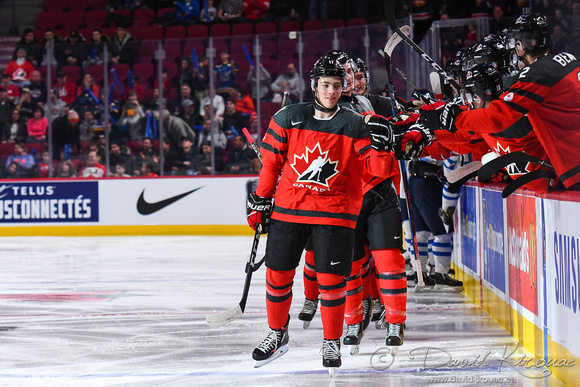 IIHF WJC 2017 : DEC 19, Montréal, QC ; Exhibition Game, Canada vs. Finland